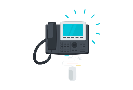 Telephone click-to-call integration